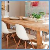cyan sillas mesas huesca